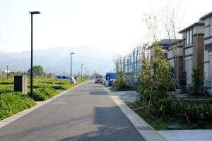 開成町初の電線類地中化街区、「リーフィア開成」を見てきました!