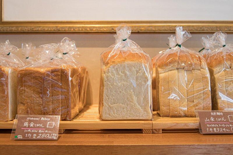 大人気の食パン