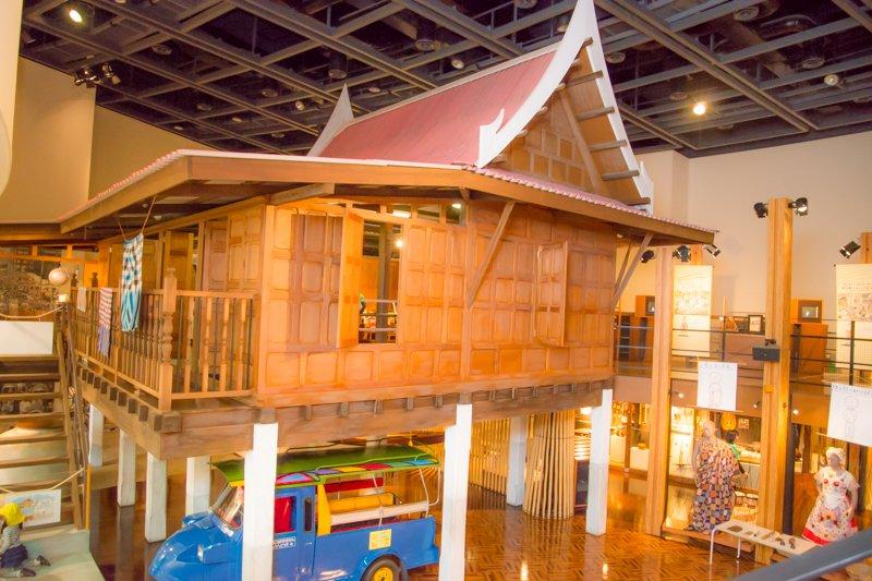 タイの再現家屋