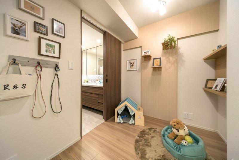 愛犬のための部屋「わんルーム」