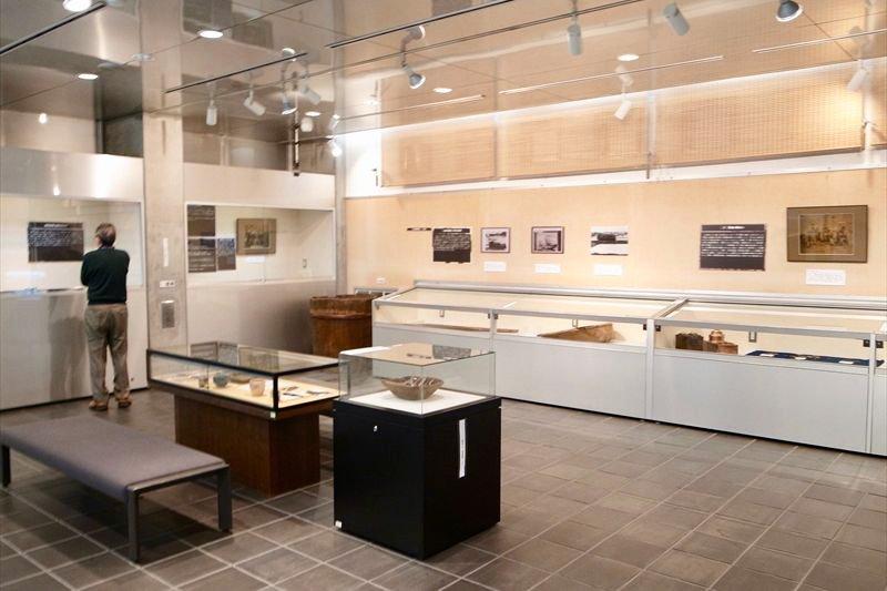 「大山街道ふるさと館」の展示室
