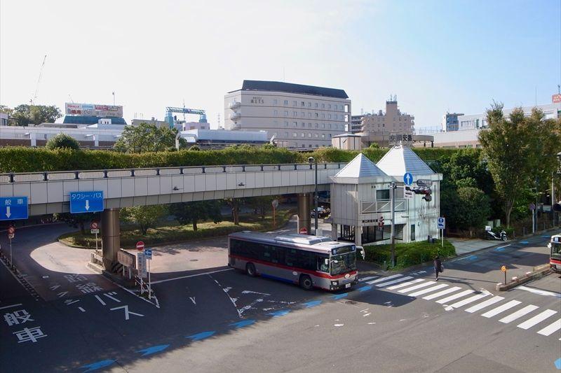 「溝の口」駅と「武蔵溝ノ口」駅の様子