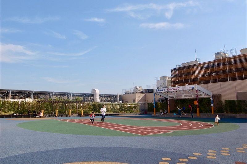 「ノクティプラザ2」の屋上広場
