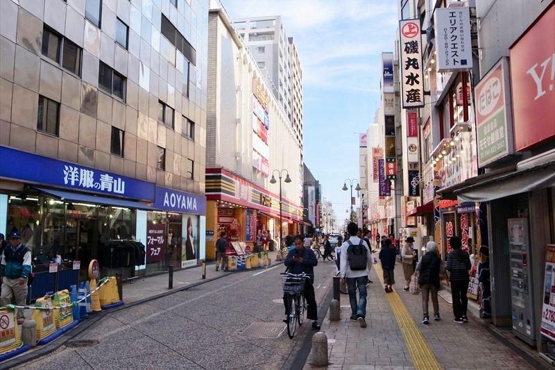 駅前からのびる「溝ノ口駅前商店街」