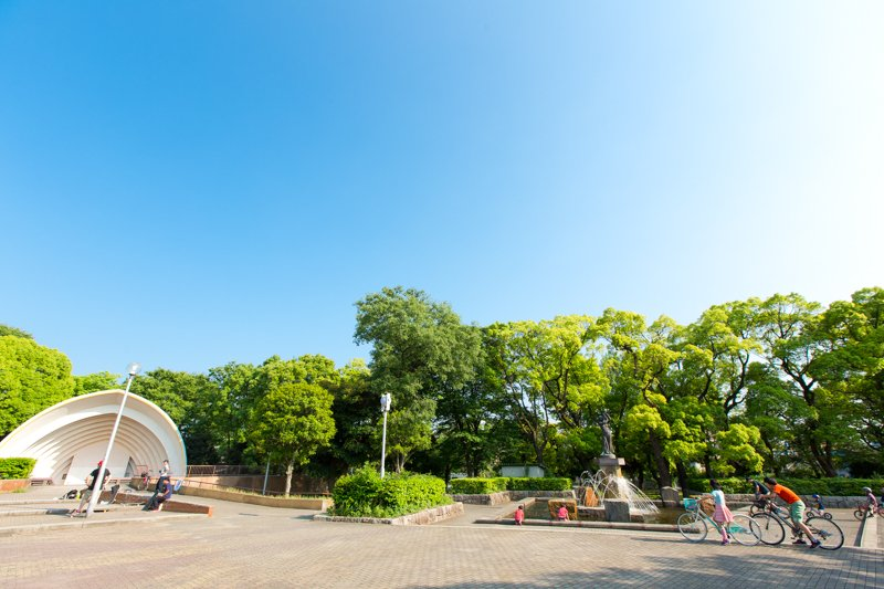 「中原平和公園」の様子