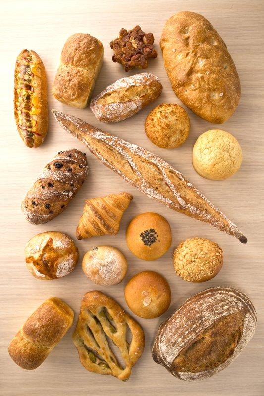 素材にこだわったパンはぜひとも味わっておきたい